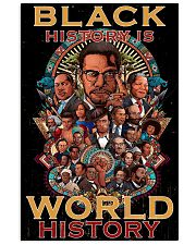 Black Activists Well Behaved People  24x36 Poster front