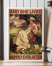 Sewing Girl Live Happily 24x36 Poster lifestyle-poster-4