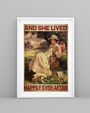 Sewing Girl Live Happily 24x36 Poster lifestyle-poster-5