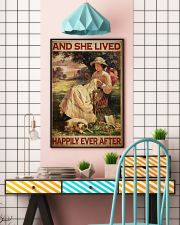 Sewing Girl Live Happily 24x36 Poster lifestyle-poster-6