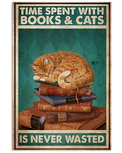 Reading With Ginger Cat