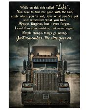 PB Semi Truck On This Ride  24x36 Poster front