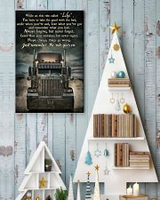 PB Semi Truck On This Ride  24x36 Poster lifestyle-holiday-poster-2