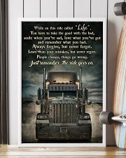 PB Semi Truck On This Ride  24x36 Poster lifestyle-poster-4