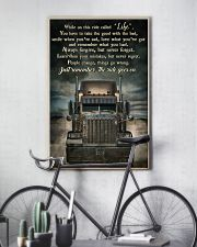 PB Semi Truck On This Ride  24x36 Poster lifestyle-poster-7