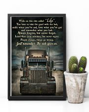 PB Semi Truck On This Ride  24x36 Poster lifestyle-poster-8