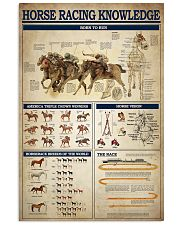 Horse Racing Knowledge 2 11x17 Poster front