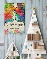 LGBT Kiss I Choose You 2 24x36 Poster lifestyle-holiday-poster-2