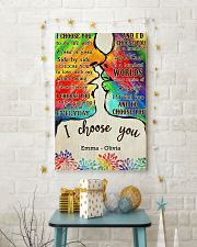 LGBT Kiss I Choose You 2 24x36 Poster lifestyle-holiday-poster-3