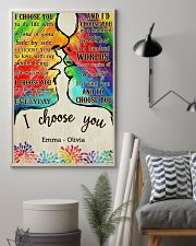 LGBT Kiss I Choose You 2 24x36 Poster lifestyle-poster-1