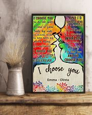LGBT Kiss I Choose You 2 24x36 Poster lifestyle-poster-3