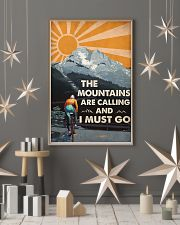 The Mountains Are Calling 24x36 Poster lifestyle-holiday-poster-1