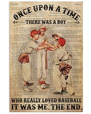 Boy Baseball Dictionary 2 24x36 Poster front