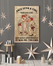 Boy Baseball Dictionary 2 24x36 Poster lifestyle-holiday-poster-1