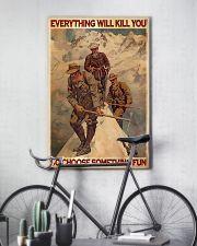 Mountaineering Choose Something Fun  24x36 Poster lifestyle-poster-7