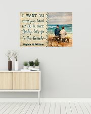 Let's Go To The Beach 36x24 Poster poster-landscape-36x24-lifestyle-01