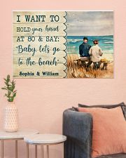 Let's Go To The Beach 36x24 Poster poster-landscape-36x24-lifestyle-18