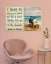 Let's Go To The Beach 36x24 Poster poster-landscape-36x24-lifestyle-19