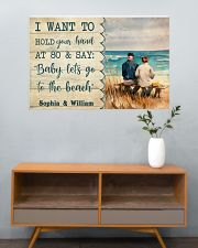 Let's Go To The Beach 36x24 Poster poster-landscape-36x24-lifestyle-21