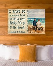 Let's Go To The Beach 36x24 Poster poster-landscape-36x24-lifestyle-23