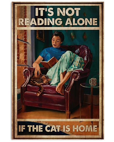 It's Not Reading Alone If The Cat Is Home