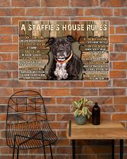 A Staffie's House Rules  36x24 Poster poster-landscape-36x24-lifestyle-20