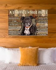 A Staffie's House Rules  36x24 Poster poster-landscape-36x24-lifestyle-23