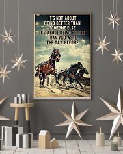 Harness Racing It's Not About  24x36 Poster lifestyle-holiday-poster-1