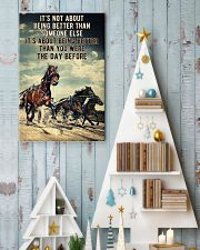 Harness Racing It's Not About  24x36 Poster lifestyle-holiday-poster-2
