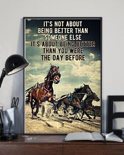 Harness Racing It's Not About  24x36 Poster lifestyle-poster-2