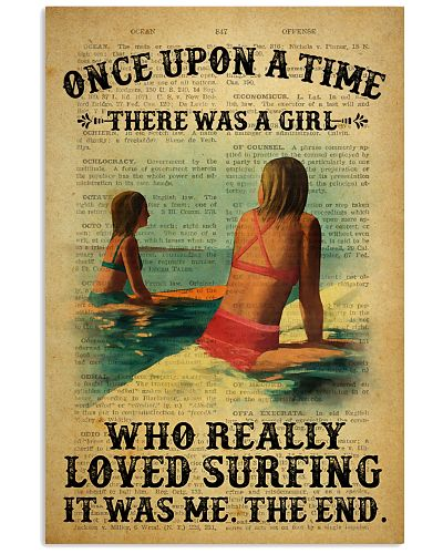 Girl Surfing Once Upon A Time Dictionary