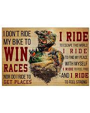 MTB I Ride 36x24 Poster front