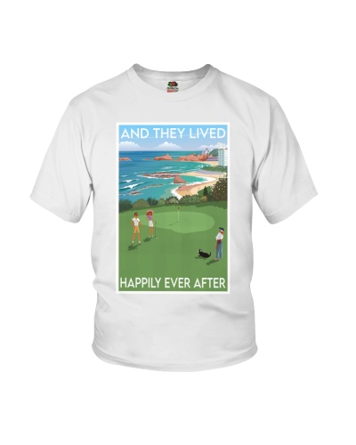 Golf Family Lived Happily