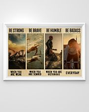 Triathlon Be Strong  36x24 Poster poster-landscape-36x24-lifestyle-02