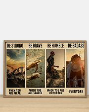 Triathlon Be Strong  36x24 Poster poster-landscape-36x24-lifestyle-03