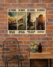 Triathlon Be Strong  36x24 Poster poster-landscape-36x24-lifestyle-20
