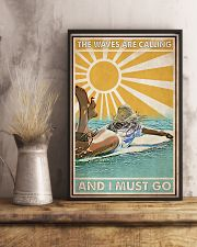 Surfing The Waves Are Calling 24x36 Poster lifestyle-poster-3