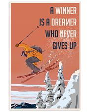 Ski Winner Dreamer Vertical Poster tile