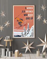Ski Winner Dreamer 24x36 Poster lifestyle-holiday-poster-1