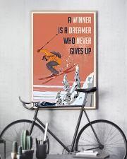 Ski Winner Dreamer 24x36 Poster lifestyle-poster-7
