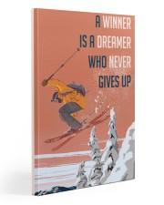 Ski Winner Dreamer Gallery Wrapped Canvas Prints tile