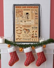 Horse Care Knowledge 16x24 Poster lifestyle-holiday-poster-4