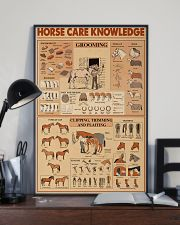 Horse Care Knowledge 16x24 Poster lifestyle-poster-2
