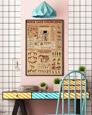 Horse Care Knowledge 16x24 Poster lifestyle-poster-6