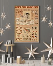 Horse Care Knowledge 24x36 Poster lifestyle-holiday-poster-1