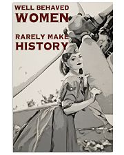 Aviation Girl Make History 24x36 Poster front