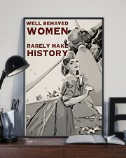 Aviation Girl Make History 24x36 Poster lifestyle-poster-2