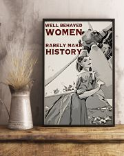 Aviation Girl Make History 24x36 Poster lifestyle-poster-3