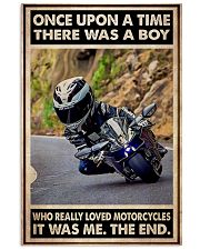 OUAT Boy Loved Motorcycles 24x36 Poster front