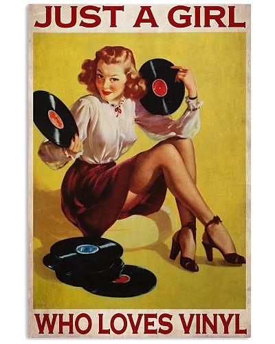 Just A Girl Loves Vinyl